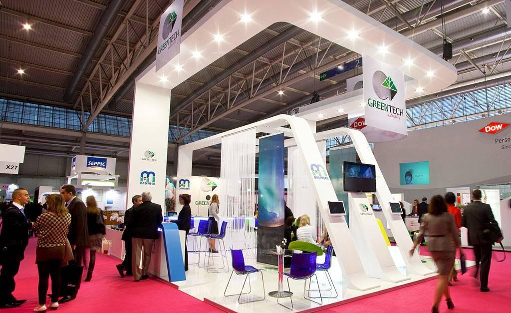 Stand d'exposition Greentech