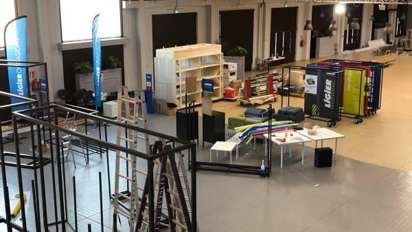 Stand d'expo design Ligier
