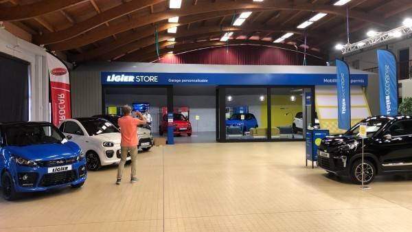 Stand sur mesure Ligier