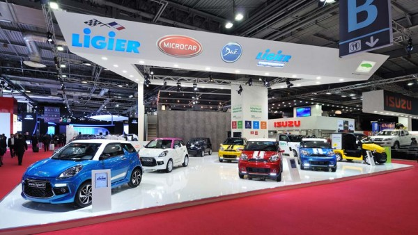 Stand Ligier Mondial de l'automobile 2012