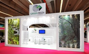 Stand Greentech salon In-Cosmetics Avril 2012