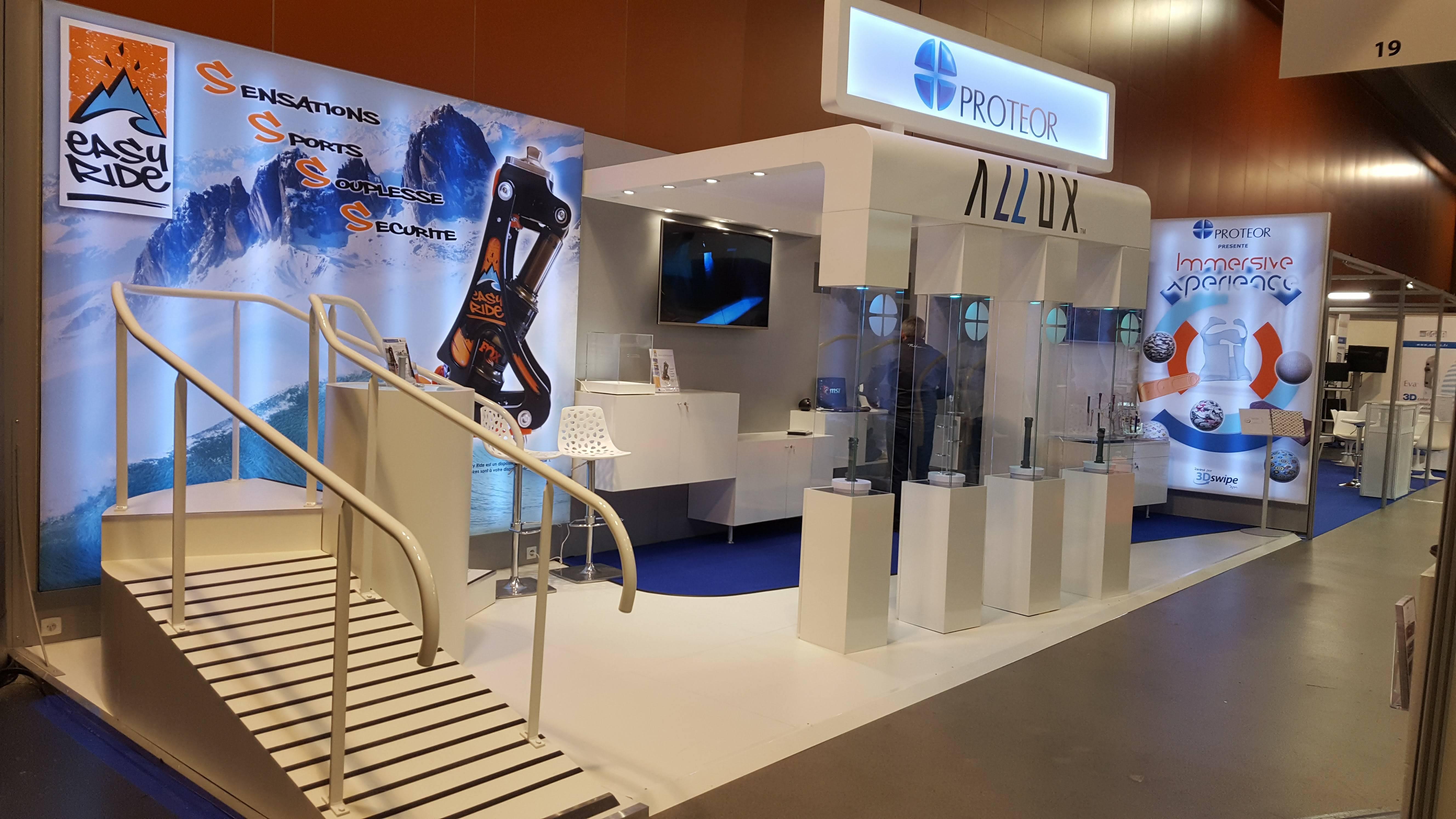 R alisation stands d 39 exposition sur mesure alphaexpo for Agencement de stand