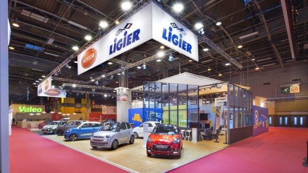 Stand Ligier salon de l'automobile