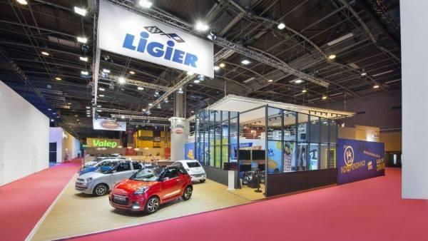 Stand Ligier sur mesure