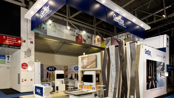 Stand Gerflor au salon BAU de Munich