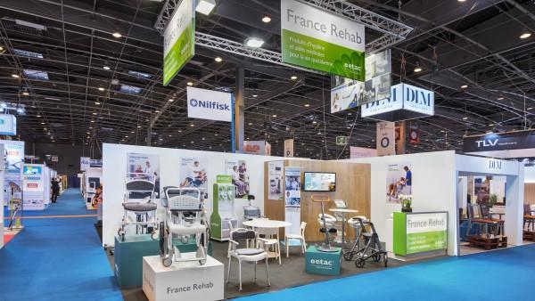 Conception d'un stand d'exposition pour France REHAB
