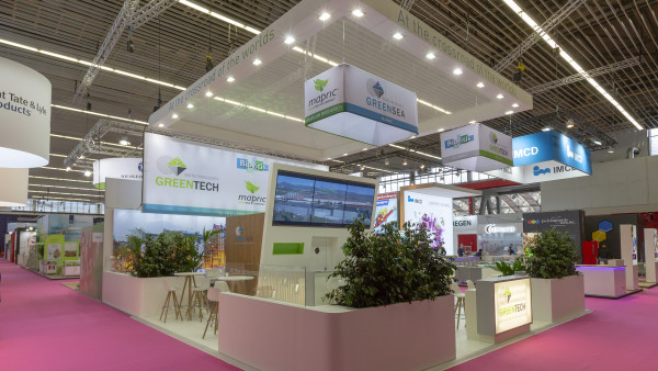 Stand sur mesure Greentech In cosmetics 2018