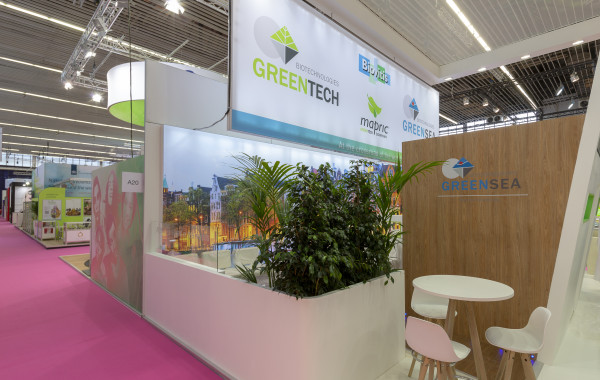Stand Greentech In cosmetics 2018