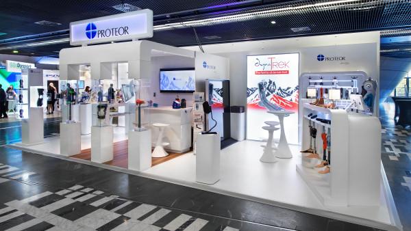 Réalisation du stand Proteor sur mesure pour la salon ISPRM 2018