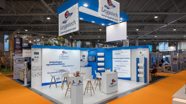 Remontage Stand Leygatech sur le salon All 4 Pack