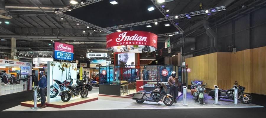 Conception Stand Indian pour le salon du 2 roues