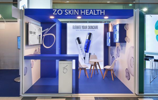 stand So Skin Health lors du salon Journées Dermatologies