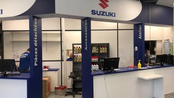 showroom sur mesure suzuki